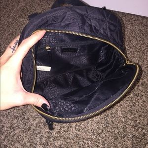 kate spade Bags - Kate Spade black quilted backpack